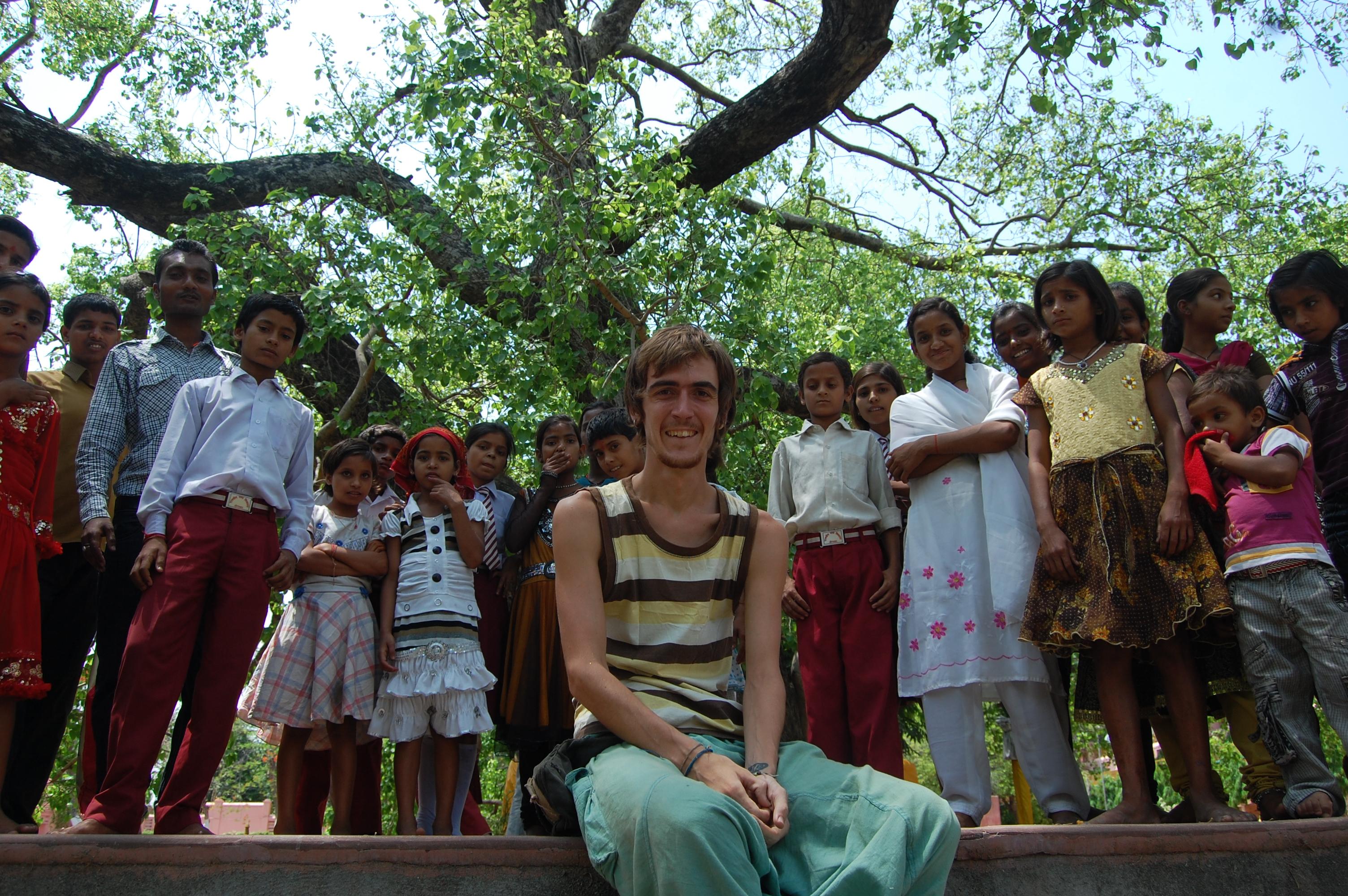 Jairo, blog Mochila Nómada en Bodhgaya (India)