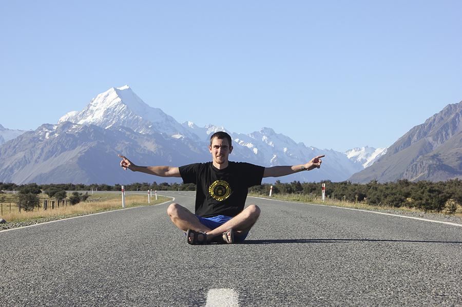 Jairo, blog Mochila Nómada, en Nueva Zelanda