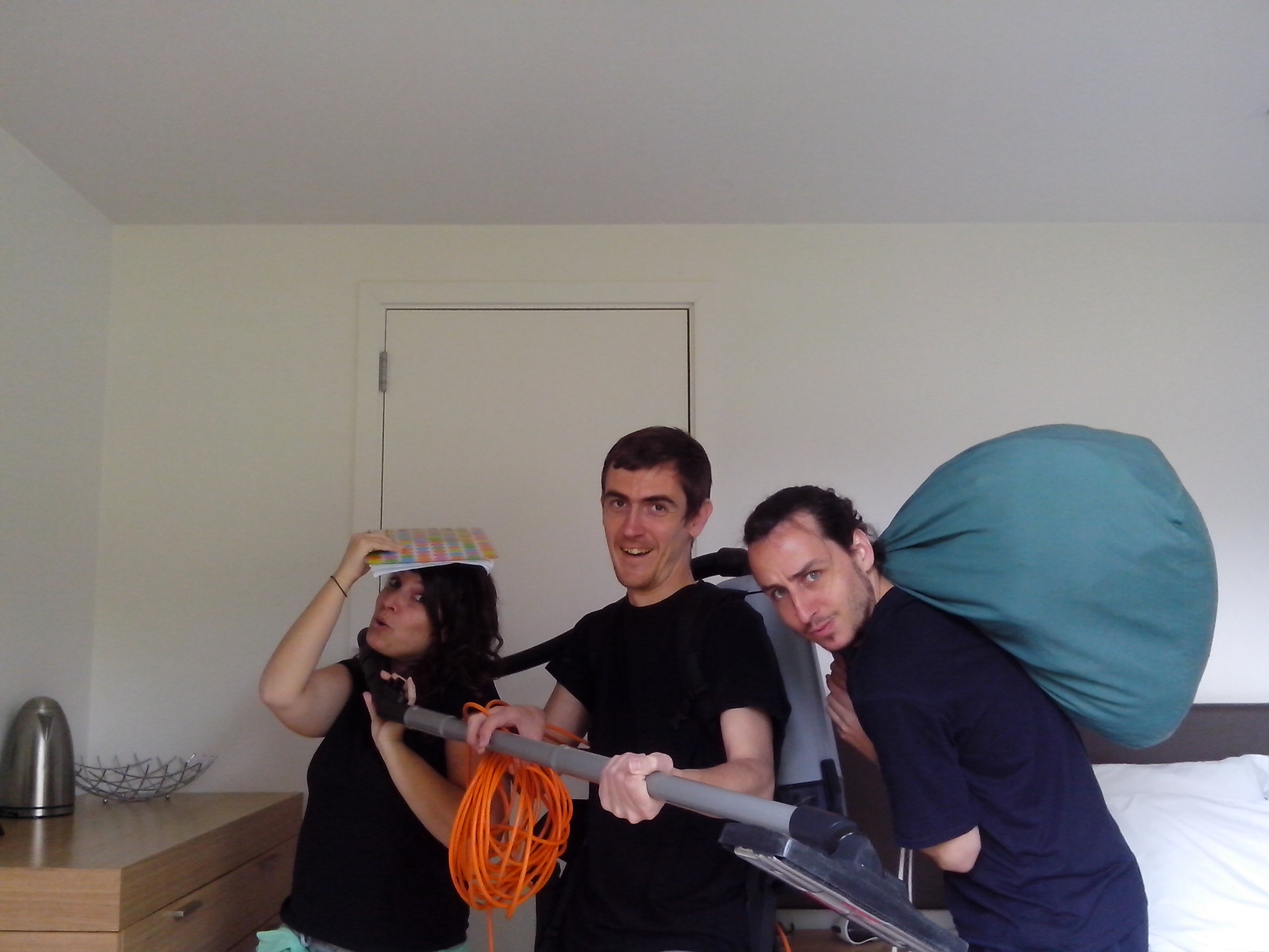 Jairo, blog Mochila Nómada, trabajando con mochileando