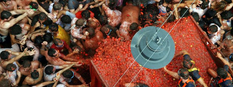 La Tomatina, Buñol