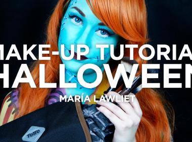 Tutorial maquillaje Halloween con María Lawliet