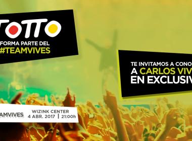 Carlos Vives en concierto en Madrid, ¡únete al #TeamVives España!