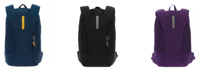 mochilas con seguridad sistema rfid