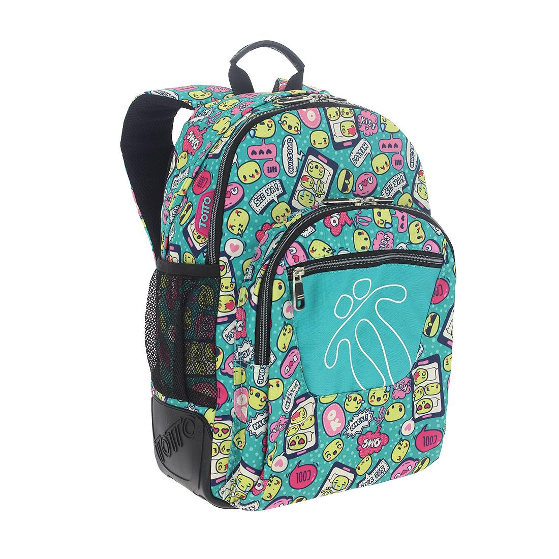 mochila escolar crayoles