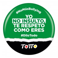 chapas anti-bullying
