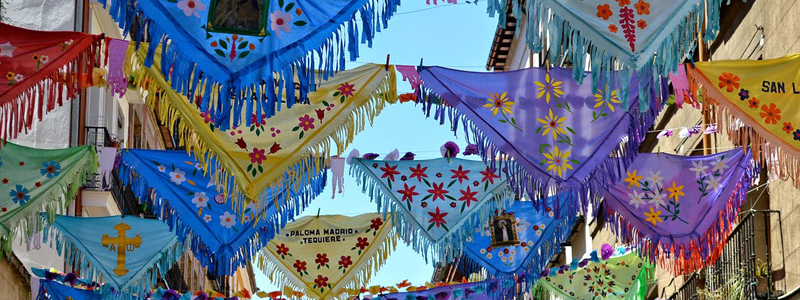 Fiestas La Paloma, Madrid