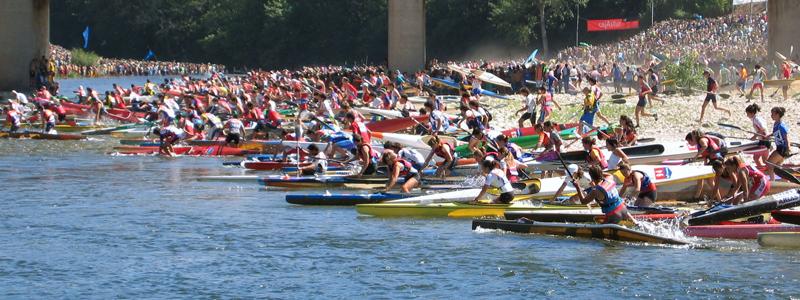 Fiesta de las piraguas, Asturias
