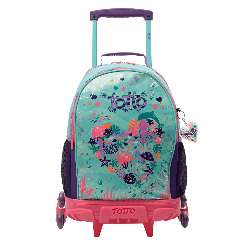 mochila infantil con ruedas happy confeti