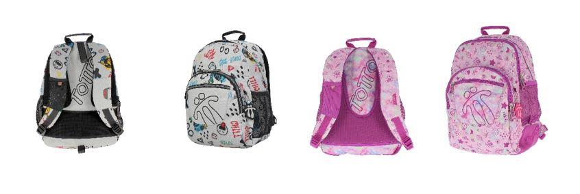 mochilas escolares Totto